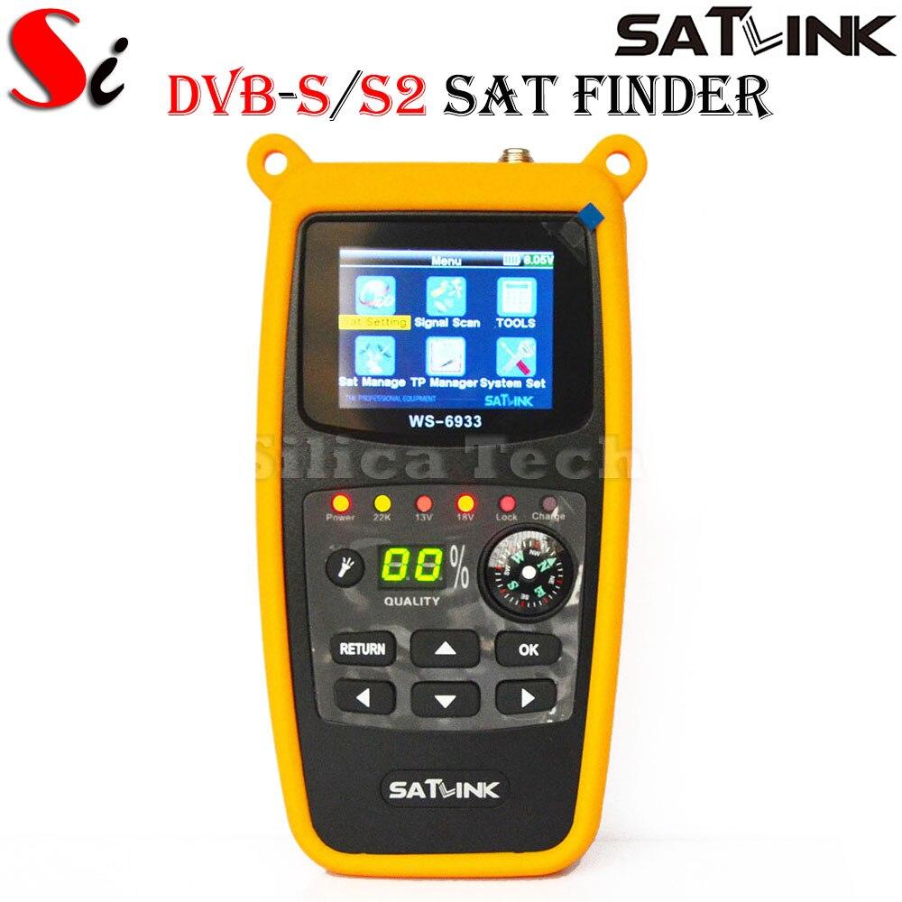 Satlink WS-6933 DVB-S2 FTA C&KU Band Digital Satellite Finder Meter bic 0.5 mm mechanical pencil