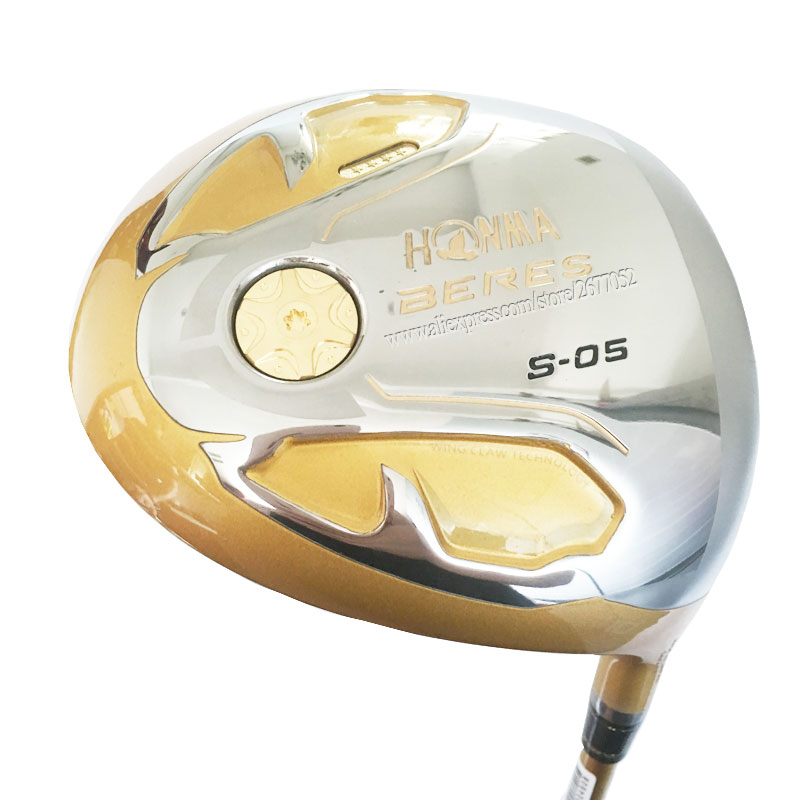 New Golf clubs HONMA S-05 4 Star Golf driver 9.5 or 10.5 loft driver Graphite shaft R or S Flex Golf shaft Cooyute Free shipping title=