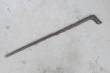 Rare Old Chinese  old wood cane walking stick,exquisite designs,Wings wood