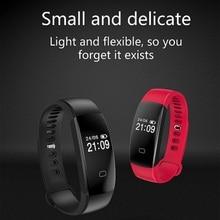 Новые F08HR Bluetooth Smart Watch браслет Разделение ремешком летние водонепроницаемые 30 м сердечный ритм USB зарядки Smart Браслет