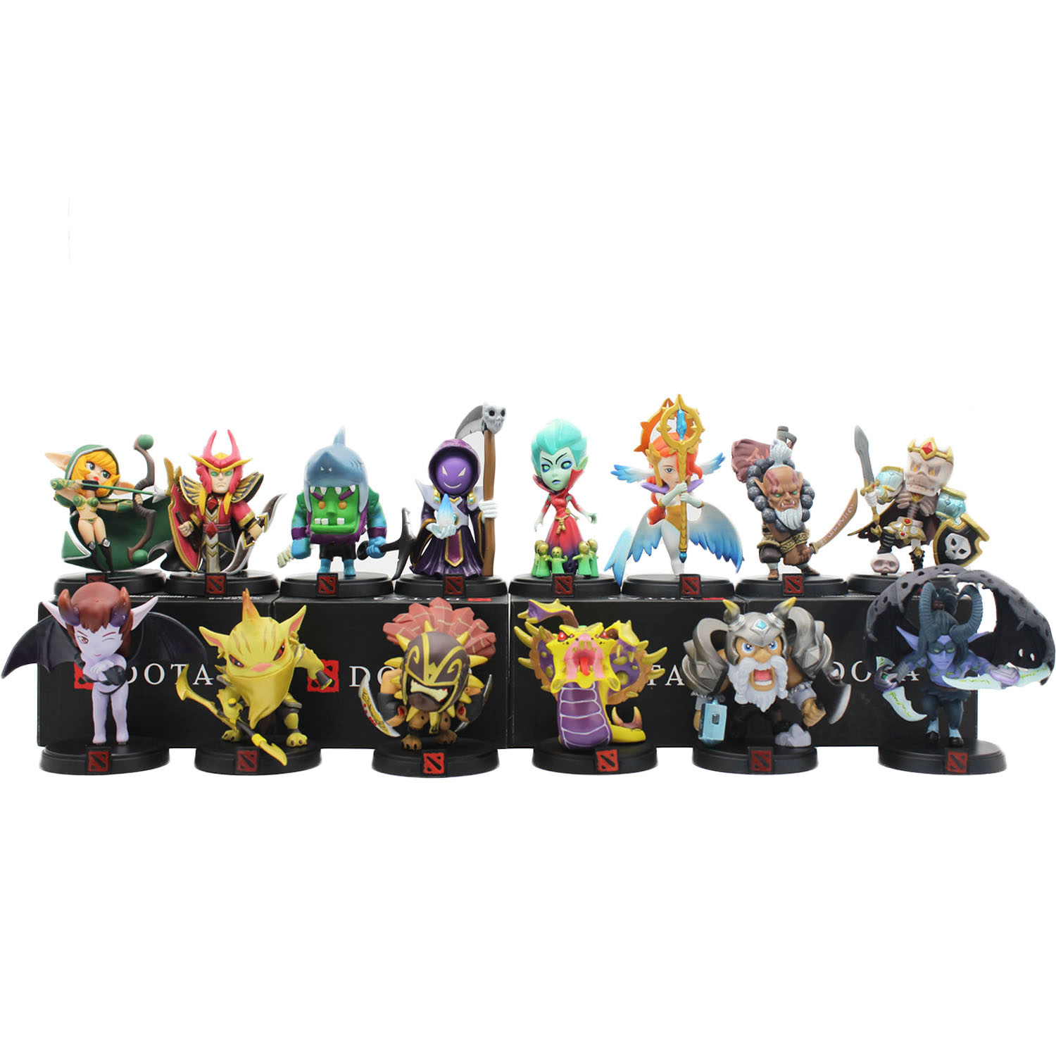 WOW DOTA 2 Game Figure Bounty Hunter BH Strygwyr Krobelus Toxic Warlock shadow juggernaut soul keeper Action Figures dota2 Toys