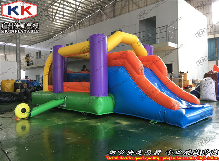 Hot Inflatable Bouncers Durable Commercial Inflatable Obstacle Bounce House Vivid And Great In Style Outdoor Fun & Sports Inflatable Bouncers