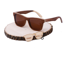 Wooden Wayfarer Sunglasses For Women