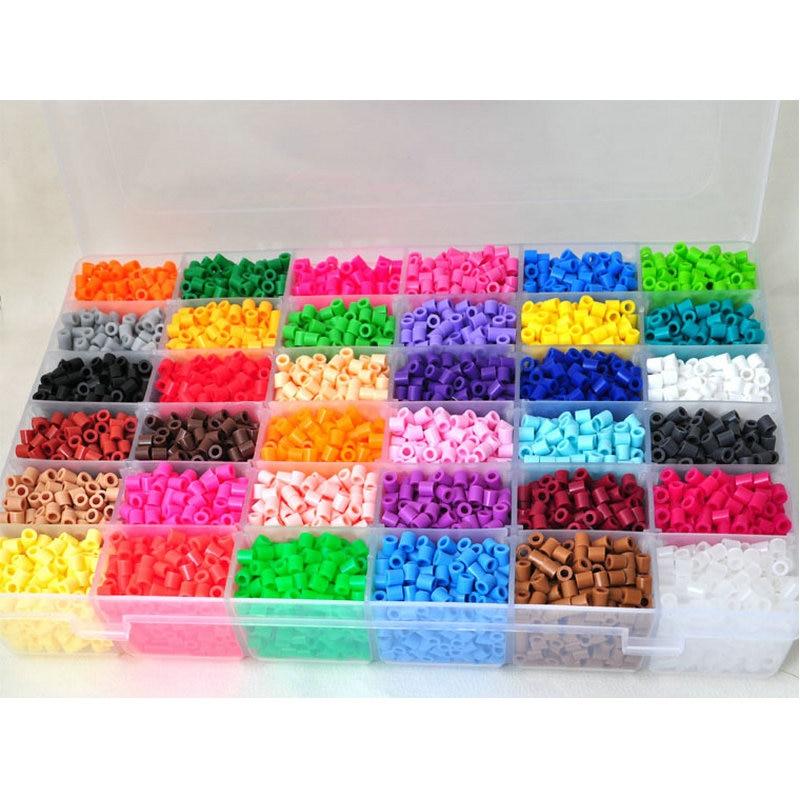 36 Цвет Hama perler Бусины 12000 шт. Box Set 5 мм Hama Бусины предохранитель Бусины (1 шаблон + 1 гладить Бумага + 1 пинцет) головоломки DIY