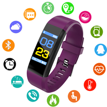 BANGWEI 2018 New Smart Digital Watch ECG Real-time Dynamic Fitness Support USB Charging OLED Color