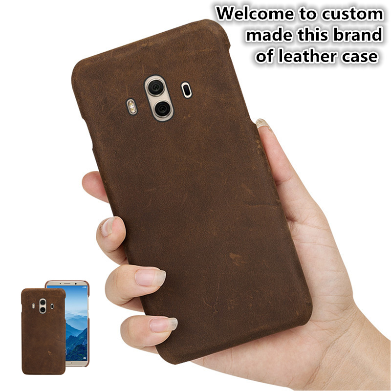 ZD10 Genuine Leather Half Wrapped Cover For Samsung Galaxy A8s(6.4') Back Case For Samsung Galaxy A8s Phone Case Cover