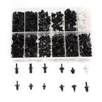 690 pcs/set 12 Sizes Car Push Pin Rivet Trim Clip Panel Body Interior Assortments