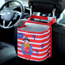 Cartoon Kids Car Backseat Multi-function Storage Bag