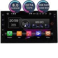 Roadlover Android 8.0 Car PC Magnitol 2 Din For Opel Astra Jeep Grand Cherokee Suzuki Grand Vitara SX4 KIA Sortage Stereo NO DVD