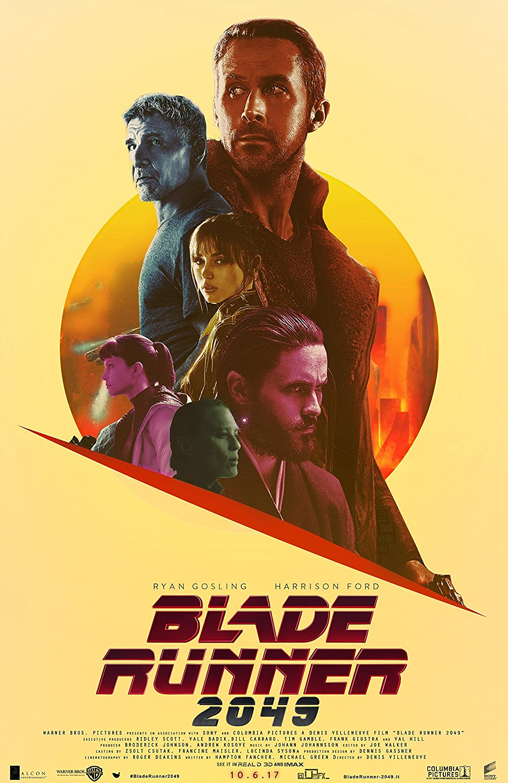 Pop Art Sci fi Blade Runner 2049 Movie Propaganda Posters