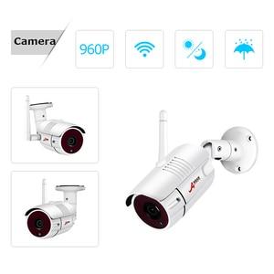 Image 3 - Камера видеонаблюдения ANRAN, водонепроницаемая камера безопасности с 12 дюймовым ЖК экраном, 1080P, 4 канала, Wi Fi, NVR, HD, 2 МП, IP