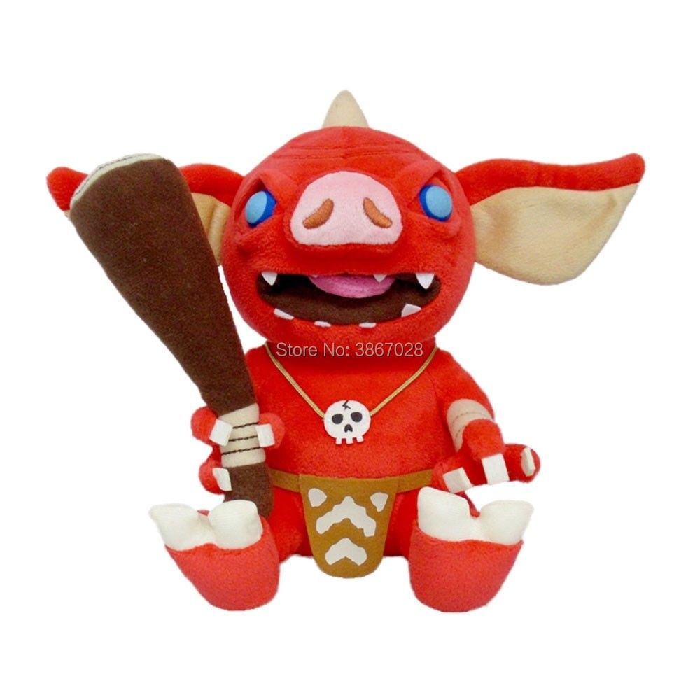 The Legend of Zelda Goblin Plush Toy Soft Stuffed Doll 30cm