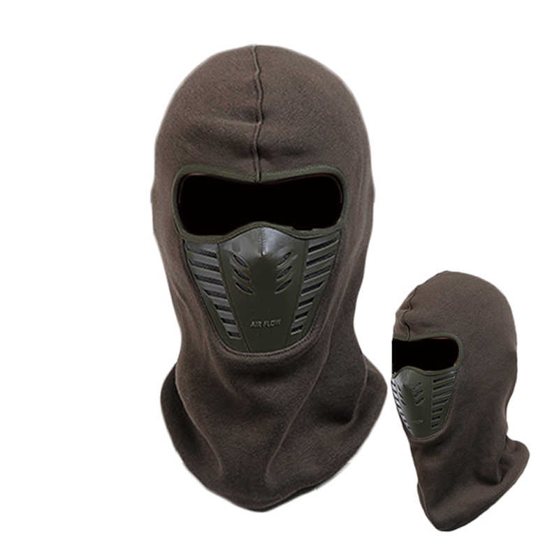 9a4b8310812 ... 2017 Winter Warm Full Face Mask Hat Cover Windproof Thermal Fleece  Balaclava Scarf Hood Men Women ...