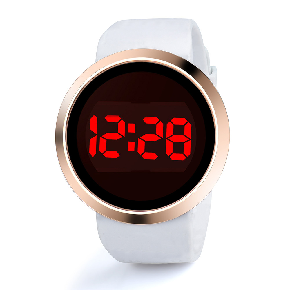 Fashion Waterproof Casual Watch LED Touch Screen Smart Men Wristwatches Day Date Silicone Lovers Watch Mens Top Brand Luxury|Digital Watches| - AliExpress