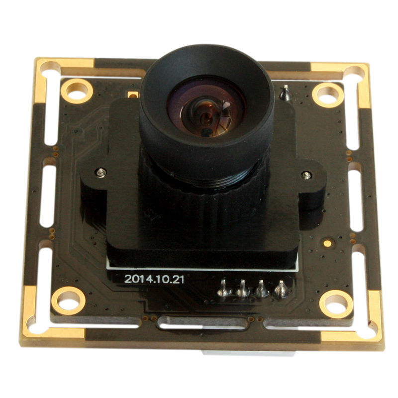 5MP 2592X1944 Aptina MI5100 100 degree No Distortion lens High Speed Webcam Module Usb Cmos Camera