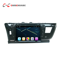 Quad Core HD 1024X600 Android 6 0 Car DVD Player For Toyota Corolla 2014 2016 With