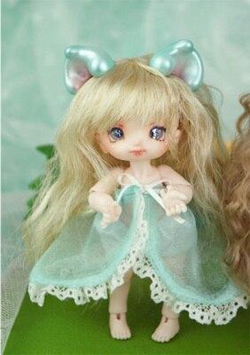 Bebe Kitty Parts 12 points bjd dolls Mini cute dolls