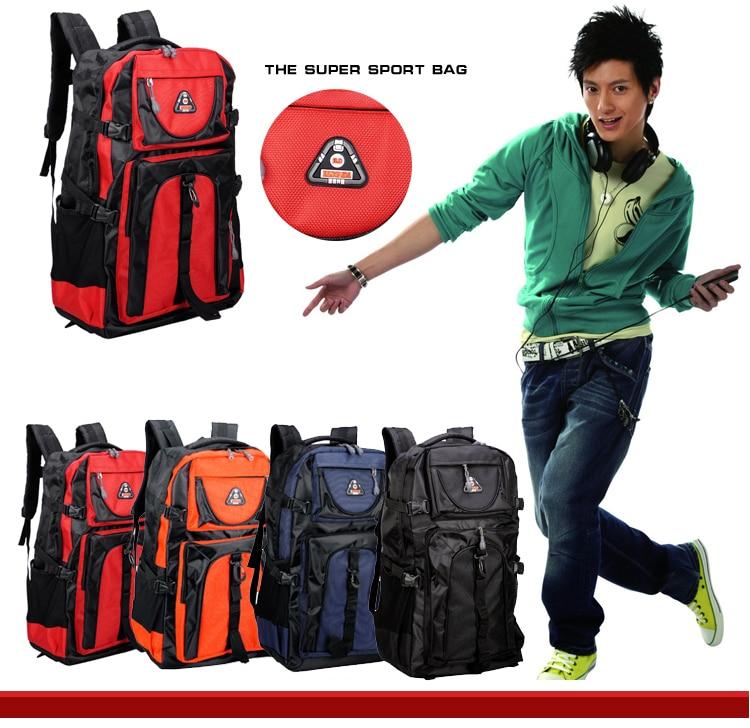 17 Senkey style 60L Large-capacity Travel Backpack Men Women Fashion Backpack To Casual Waterproof Laptop Student school Bag 2