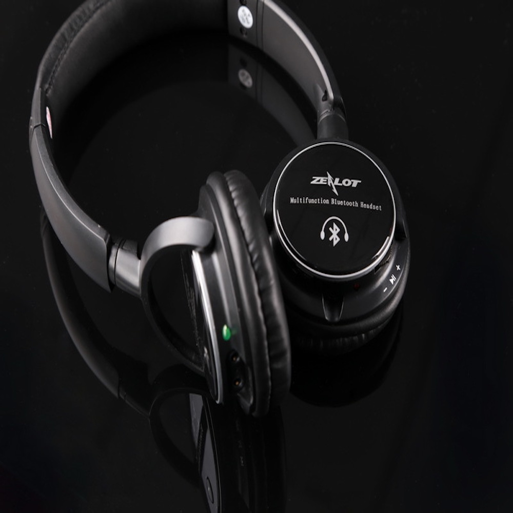 High quality B370 Wireless Bluetooth Stereo Headphone Headset Handfree Microphone TF Card/FM/MP3/Rechargble battery ks 509 mp3 player stereo headset headphones w tf card slot fm black