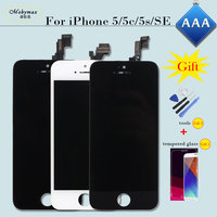Display For IPhone 6 5 5S 5C SE Replacement LCD Screen Digitizer Assembly Parts With Tempered