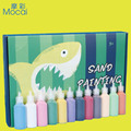 Sand Painting 12 Color 24 Color Suit Non-toxic Environmental Protection Gift Box Color Sand DIY Hand-made Stickers