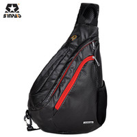 SINPAID Brand Chest Pack Fashion Water Drop Bag Casual Men S Handbag High Quality Oxford Messenger