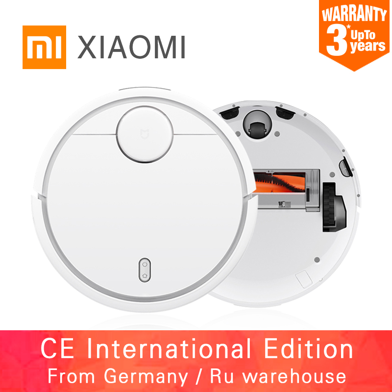 2016 Original XIAOMI MI Robot Vacuum Cleaner Home Automatic Sweeping Dust Sterilize Smart Planned Path Mobile App Remote Control rak dinding minimalis diy