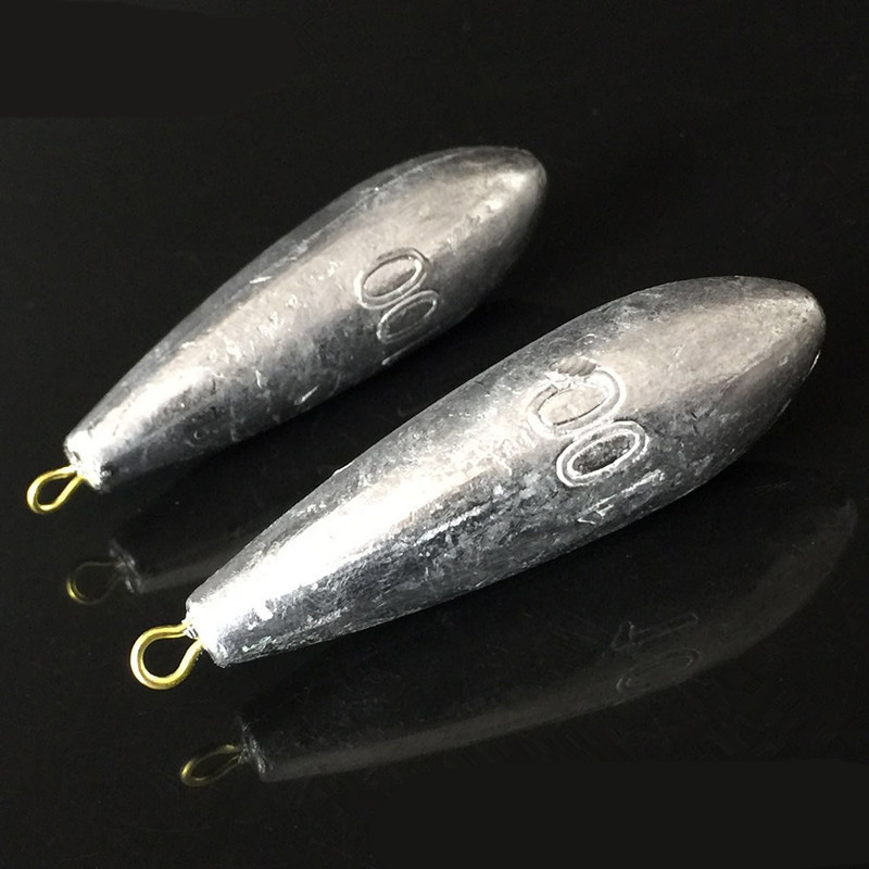 1 Piece Weight Size 10g/20g/30g/40g/50g/60g/70g/80g Water Droplets Lead Weights Fishing Lead Sinkers Fishing Accessories