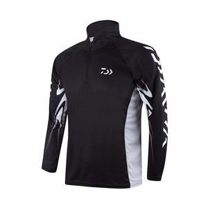 Image 2 - المهنية العلامة التجارية ملابس الصيد 2020 جديد دايوا قميص لصيد الأسماك تنفس سريعة الجافة المضادة للأشعة فوق البنفسجية طويلة الأكمام ملابس لصيد السمك
