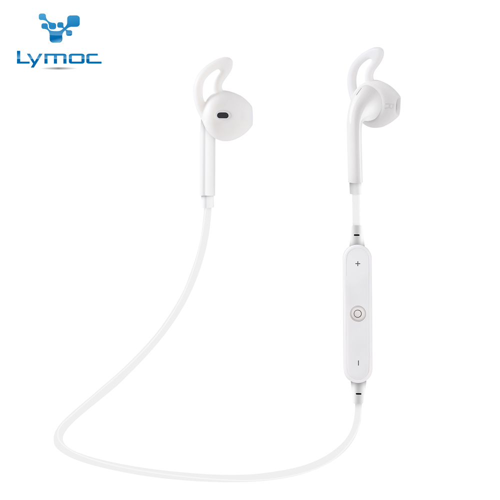 LYMOC S6 Sport Bluetooth Headsets Wireless Earphone Stereo Bluetooth 4.1 Headset Handfree HD MIC MP3 Music for iPhone Xiaomi bluetooth earphone headphone for iphone samsung xiaomi fone de ouvido qkz qg8 bluetooth headset sport wireless hifi music stereo