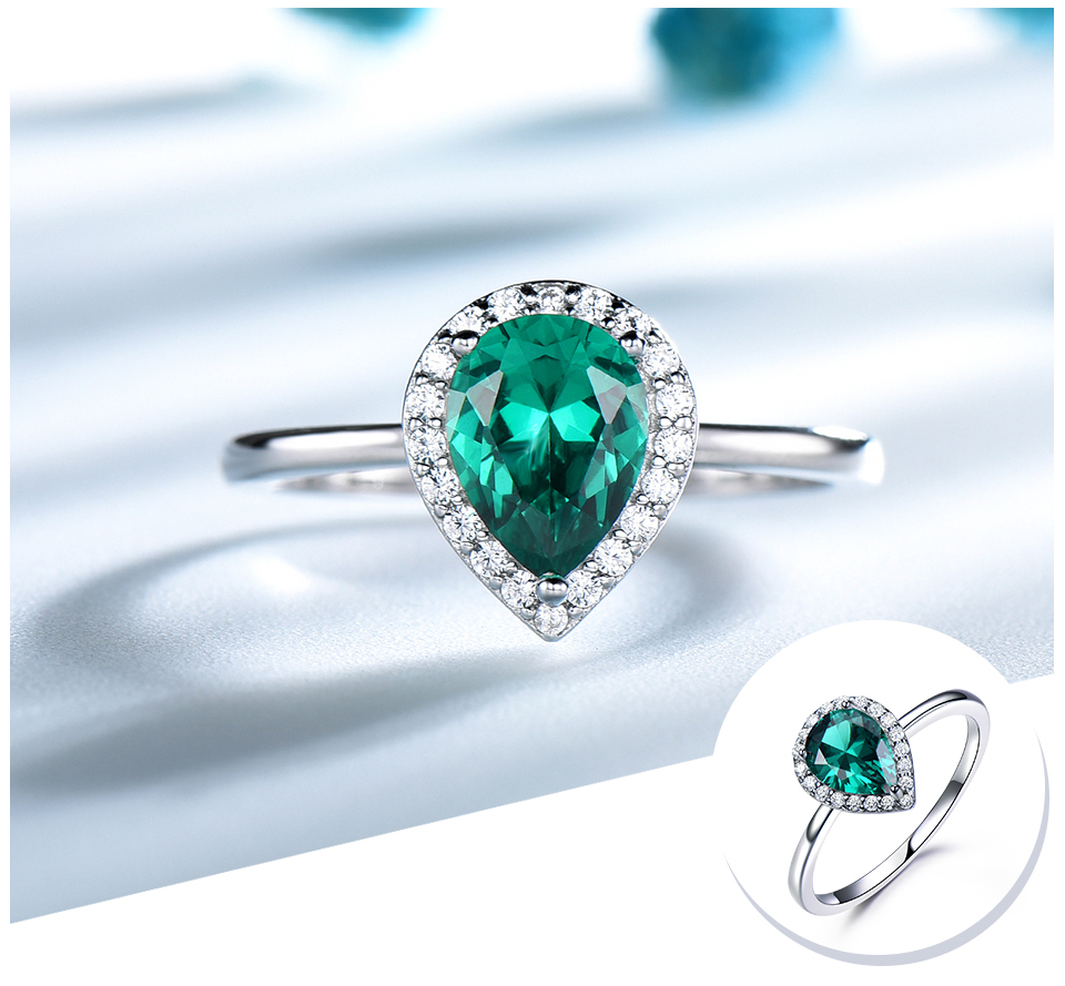 UMCHO-Emerald-925-sterling-silver-rings-for-women-RUJ046E-1-PC_04