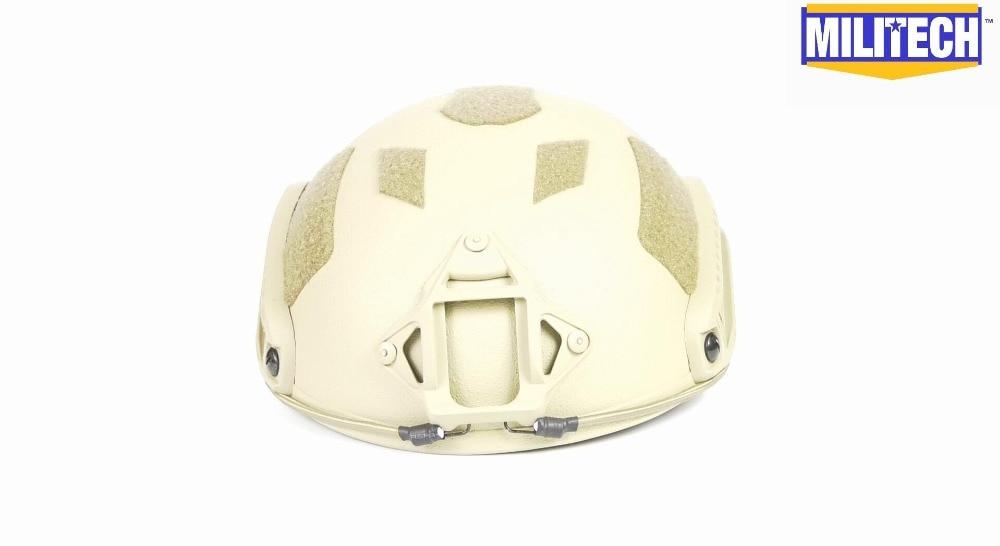 Aufrichtig Militech Lite De Occ Liner Super High Cut Helm Kommerziellen Video Knitterfestigkeit Schutzhelm