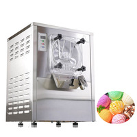Jamielin Electric Gelato machine Table Top 20L Frozen Hard Ice Cream Machine Desktop Ice cream freezer
