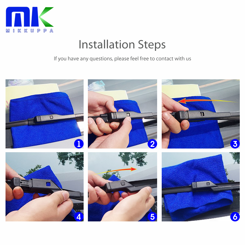 Combinar as lâminas do limpador dianteiro e traseiro para Fiat Bravo - Peças auto - Foto 3