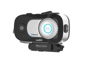 Image 4 - 2 sztuk MORNYSTAR M1Pro 800m 4 zawodników grupa domofon MP3 HD 1080P wideorejestrator kamera interkom motocyklowy na bluetooth kask z zestawem słuchawkowym