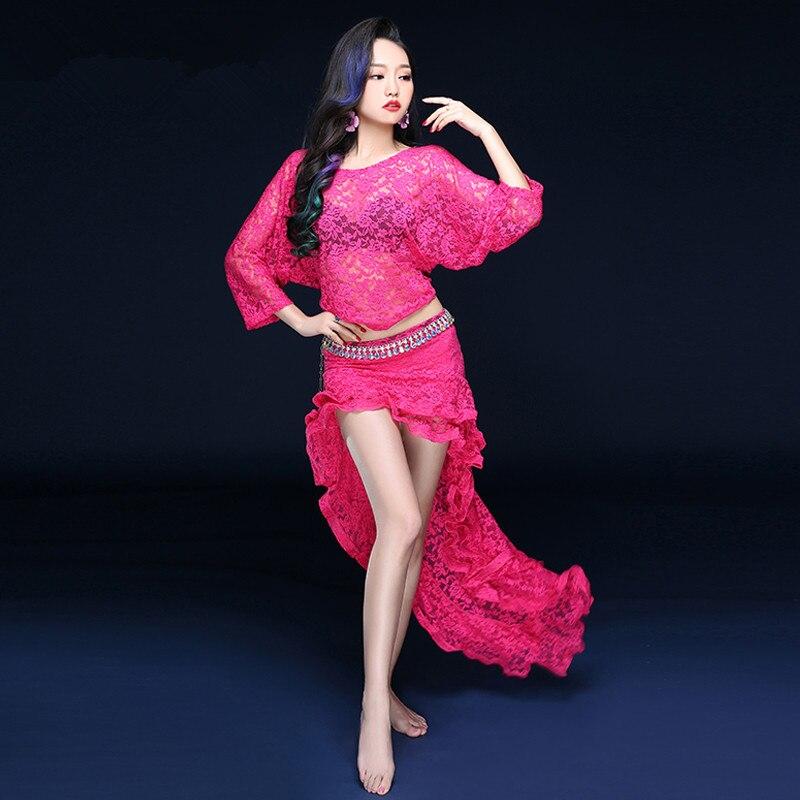 Bellydance oriental vientre Indio Gitano danza traje trajes ropa Correa  cinturón cadena bufanda anillo falda vestido conjunto traje 321 7b277a26c602
