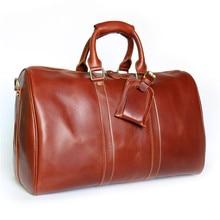 NEWEEKEND 9551 Vintage bunte Aus Echtem Leder Öl Rindsleder Anti-Scratch Große Reise Reißverschluss Crossbody Gepäcktasche Handtasche für Mann