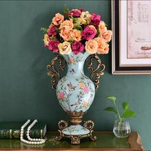 European resin dry vase home decoration