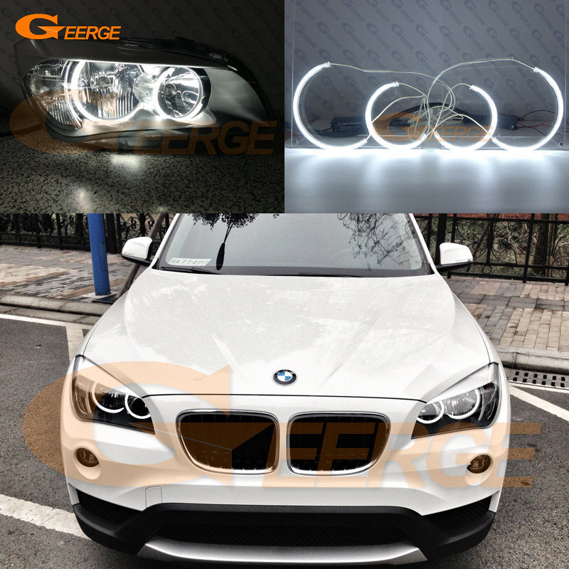 For BMW X1 E84 2010 2011 2012 2013 2014 Halogen headlight perfect compatible C Shape Style