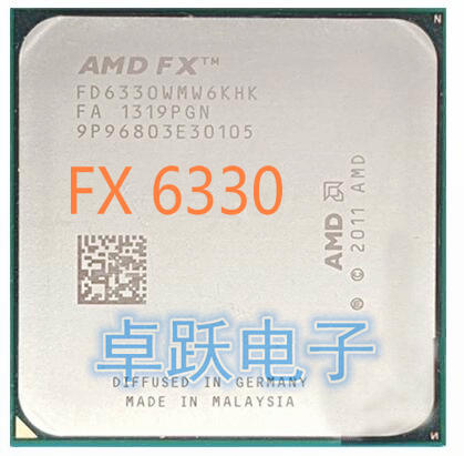 AMD FX-Series FX-6330 AMD FX 6330 Six Core AM3+ CPU 6330 free shipping