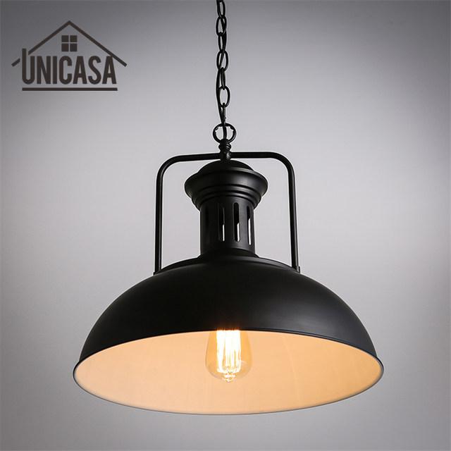 Tienda Online Antiguo bar loft lámpara de techo de hierro forjado ...