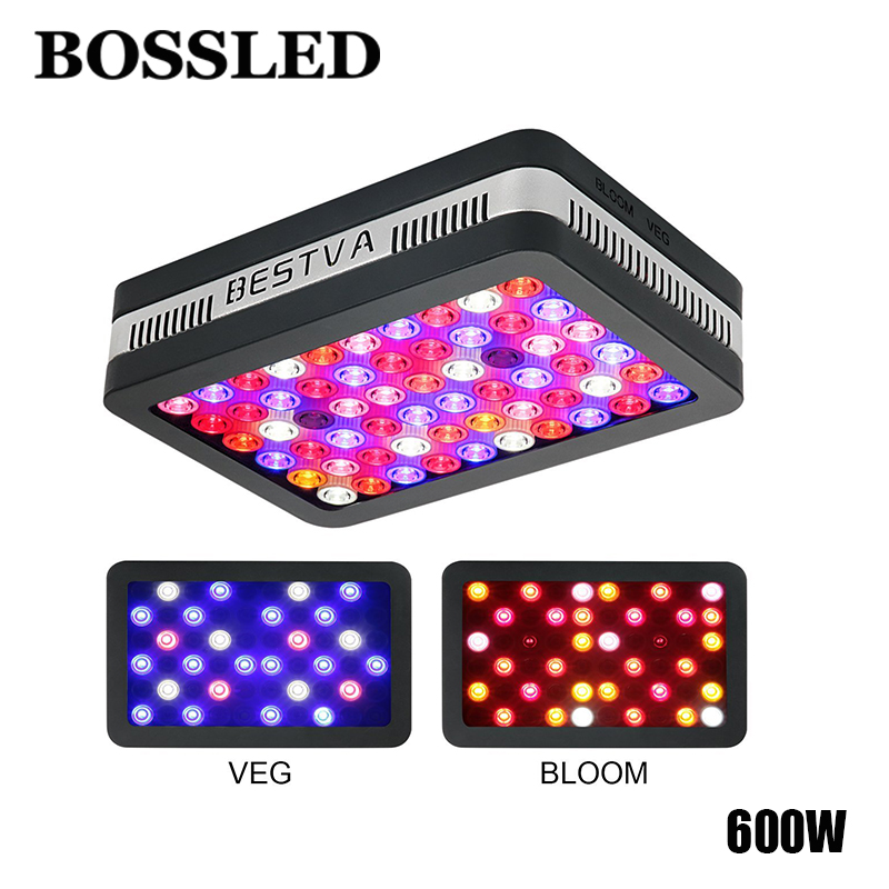 Led grow ligh reflector Elite 600W LED Grow Light Full Spectrum Grow Lamp for Greenhouse Hydroponic Indoor Plants Veg and Flower стоимость
