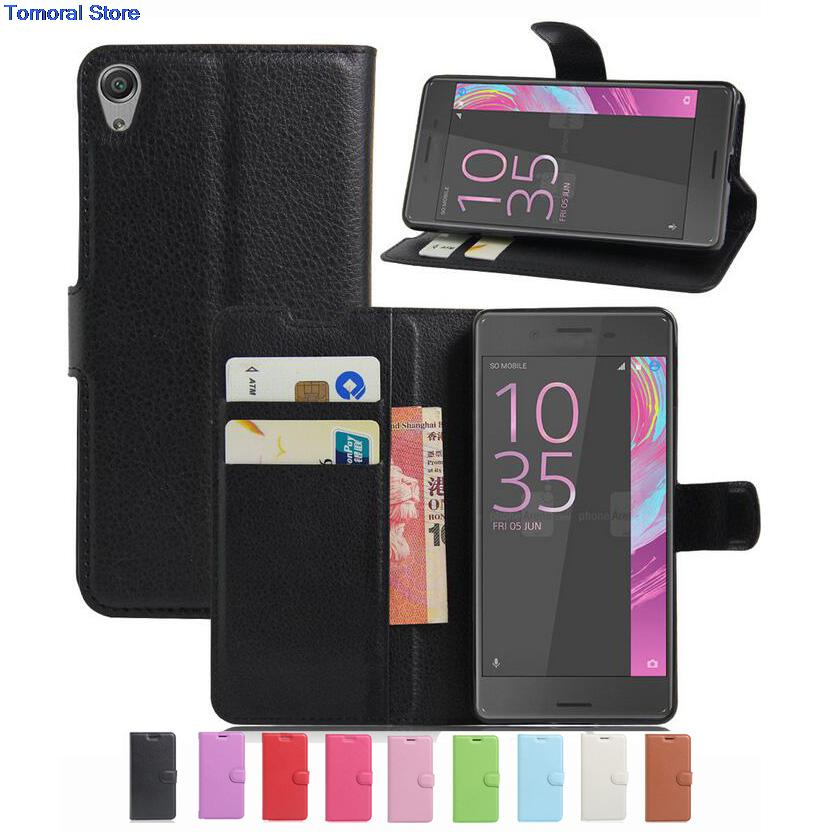 Wallet Case For Sony Xperia E5 E 5 Five SonyE5 F3311 PU Leather Kickstand Shell Pink Rose Green Purple Blue Black White Brown