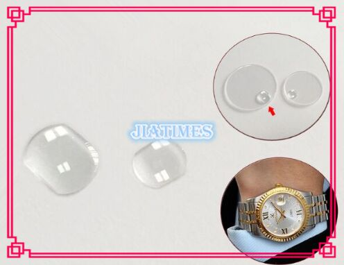 Free Shipping 1pcs Real Sapphire Date Window for Watch Repair