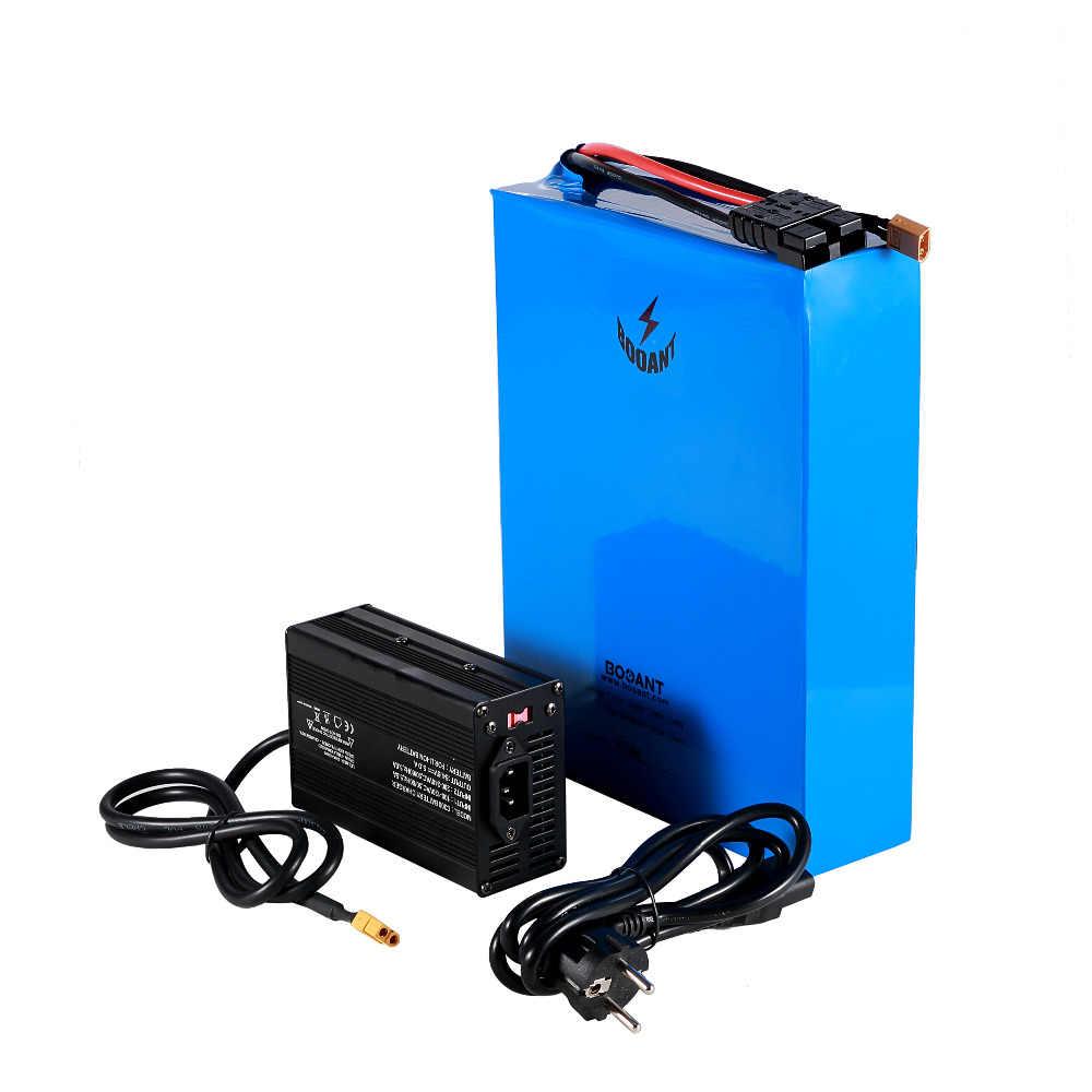 Batterie au Lithium électrique Rechargeable de vélo de 84 v 40ah pour Samsung 30Q 18650 23 S 14 P 84 v 5000 w 7000 w batterie de scooter + chargeur 5A