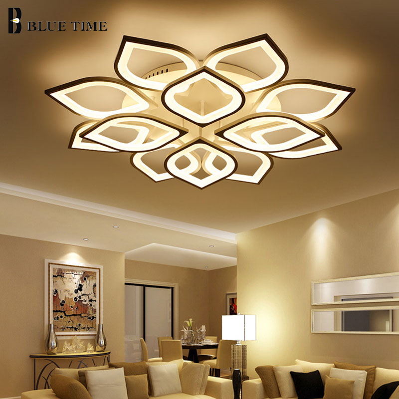 Acrylic Modern led ceiling for living room bedroom White Simple Plafon led ceiling lamp home lighting fixtures AC85-260V aisilan modern led track spotlights cob ceiling lamps 360 180 angle adjustable ac85 260v 5 7w lighting fixtures living room shop