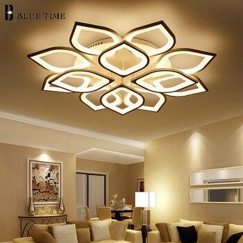 Acrylic Modern led ceiling for living room bedroom White Simple Plafon led ceiling lamp home lighting fixtures AC85-260V