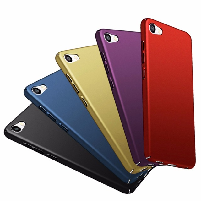 Case For MEIZU U10 U20 Case Cover Full Protective Frosted For U10 U20 Phone Cases Luxury Hard Plastic For U 10 U 20 Back Cover