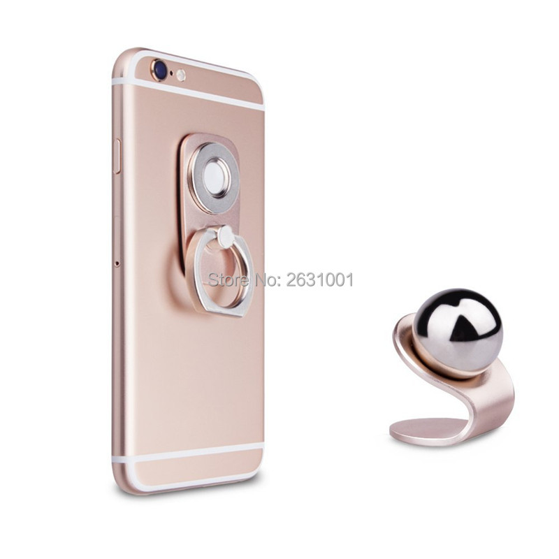 car finger ring phone holder rose gold1