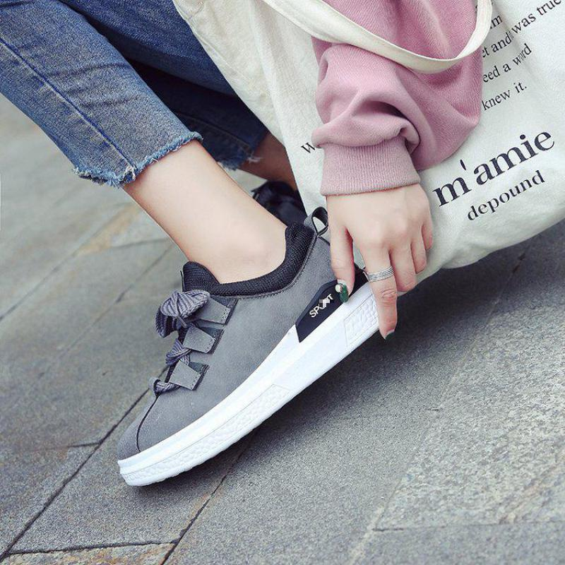 527 Tête Chaussures Nouveau Un rose Femelle Noir gris Casual Printemps Plat 0Y0xI7R